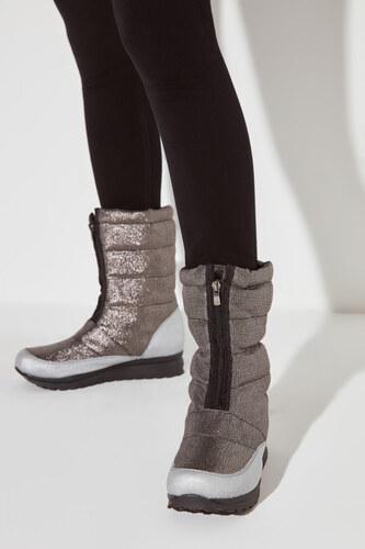 Trendyol Silver Women's Sneaker Glami.si